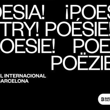 Barcelona en vers: set dies de poesia a la ciutat
