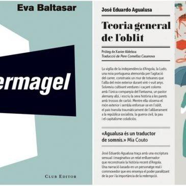 La novel·la Permagel, d'Eva Baltasar, guanya el Premi Llibreter 2018