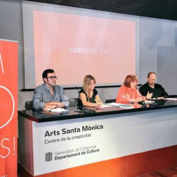 Canvi de nom, pla de lectura i internacionalització: així celebren els quaranta anys els editors en català