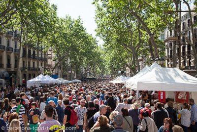 Optimisme davant d'un nou Sant Jordi marcat per la Setmana Santa