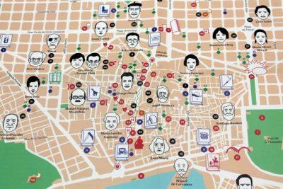 Es presenta el mapa literari de Barcelona