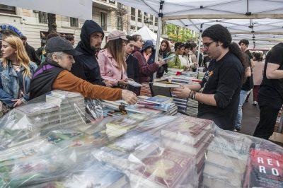 El Gremi de Llibreters cifra en 22,16 millones la facturación de Sant Jordi