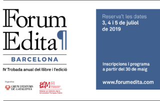 El president del grup Feltrinelli inaugurarà el IV Forum editorial Edita