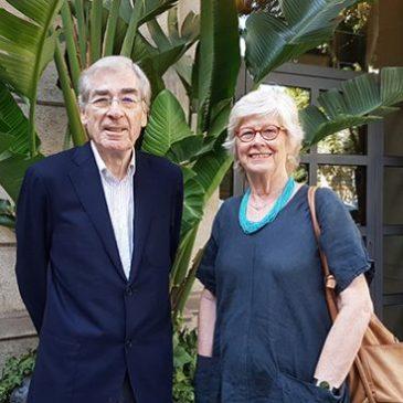 Margarita Lömker y Oriol Serrano, Premi Trajectòria 2019