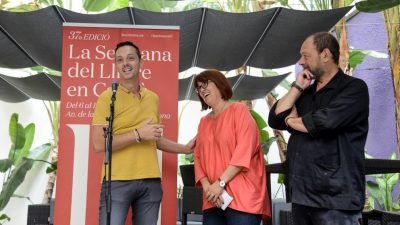 Joan Carles Girbés, nuevo presidente de la Setmana del Llibre en Català