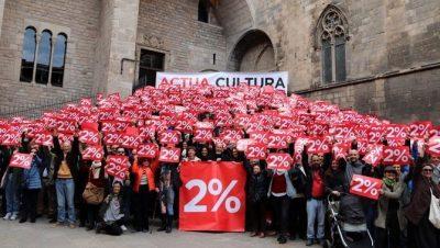 Clam conjunt de la indústria cultural pel 2%