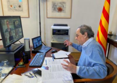 El presidente Torra acuerda con el mundo del Libro elaborar un Plan para «rescatar y reactivar» el sector